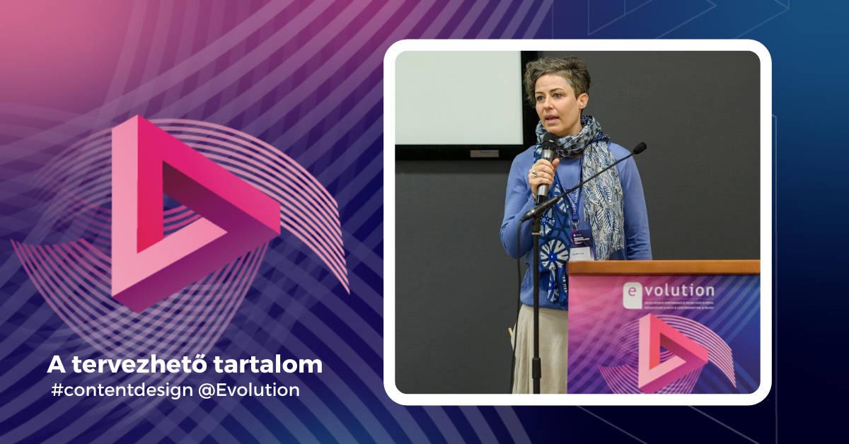 """""""A tervezhető tartalom"""" – Evolution prezentáció"""